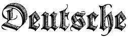 Готический шрифт который внутри